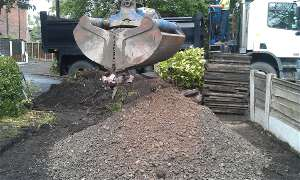 Remove subsoil